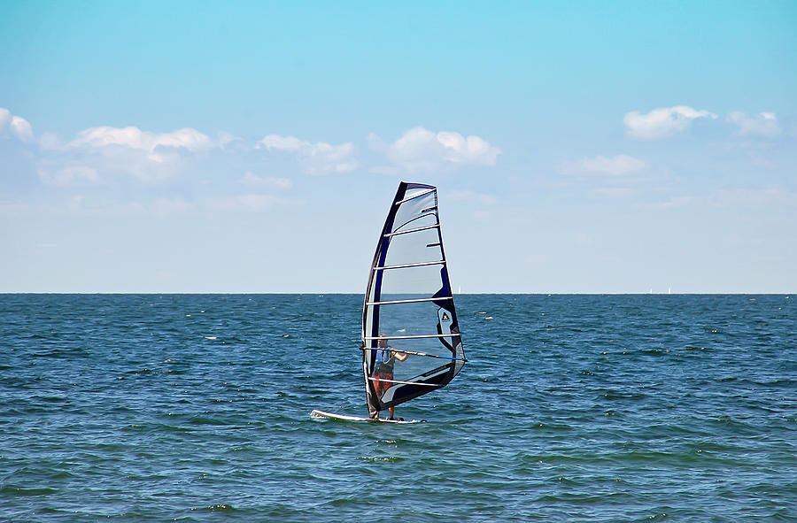 Windsurfer Photograph - Wind Surfer by Aimee L Maher Photography and Art Visit ALMGallerydotcom