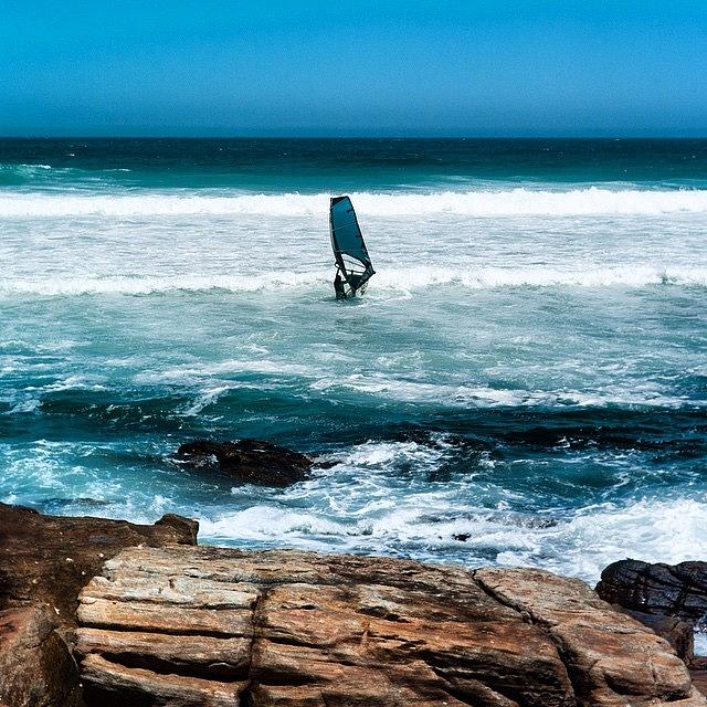 Wind Surfer Photograph by Aleck Cartwright
