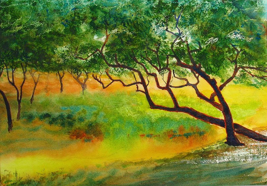 Wind Trees by Peter Senesac