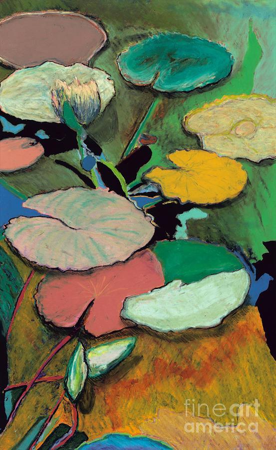 Landscape Painting - Windchime Spring by Allan P Friedlander