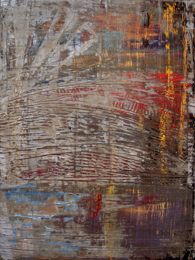 Abstract Painting - Windfall by Natalie Starnes