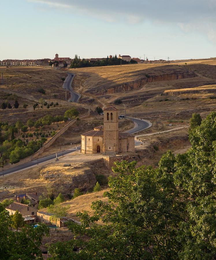 Segovia Photograph - Winding Segovia Roads by Viacheslav Savitskiy