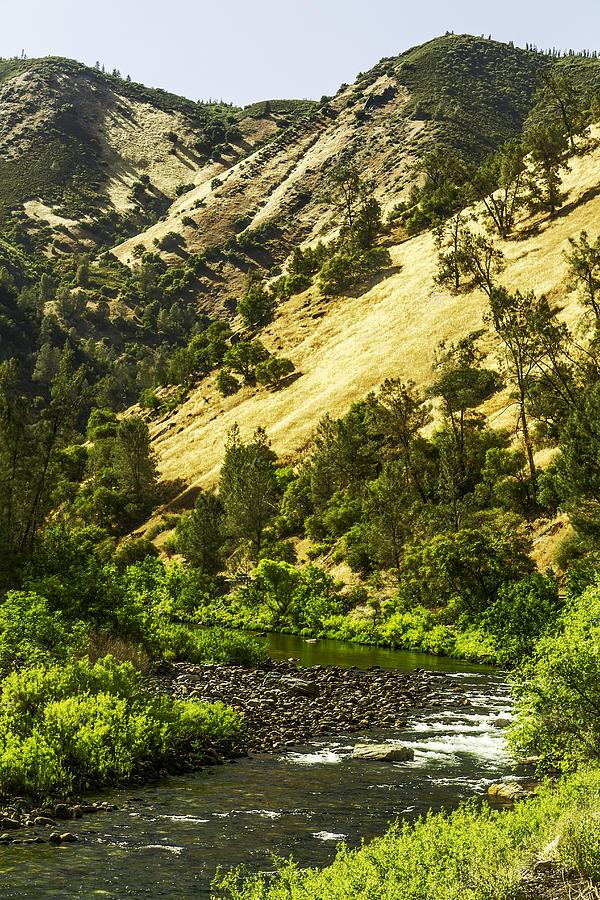 Winding Stream-yosemite-series 01 Photograph by David Allen Pierson