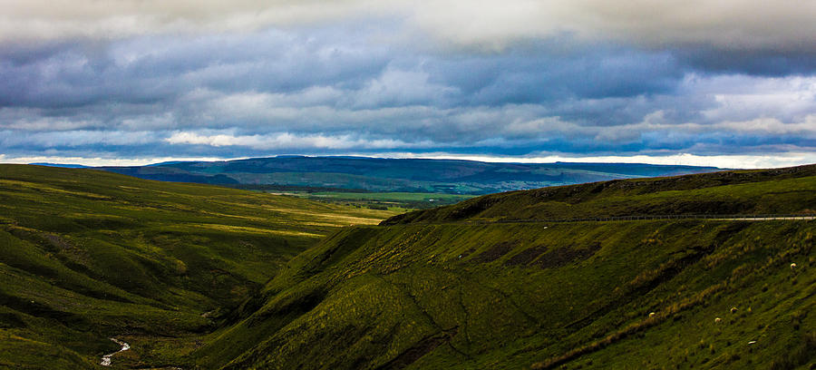Wales Photograph - Winding Valley by Theresa Selley