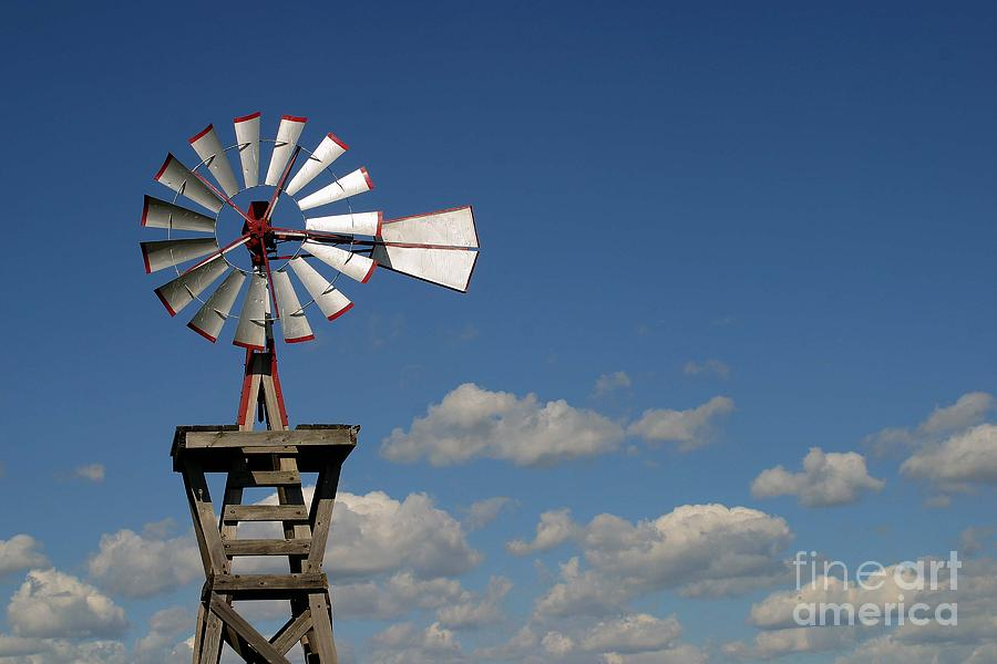 Photographs Photograph - Windmill-5764b by Gary Gingrich Galleries