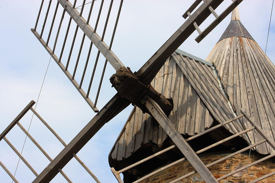 Windmill Photograph - Windmill by Carrie Warlaumont