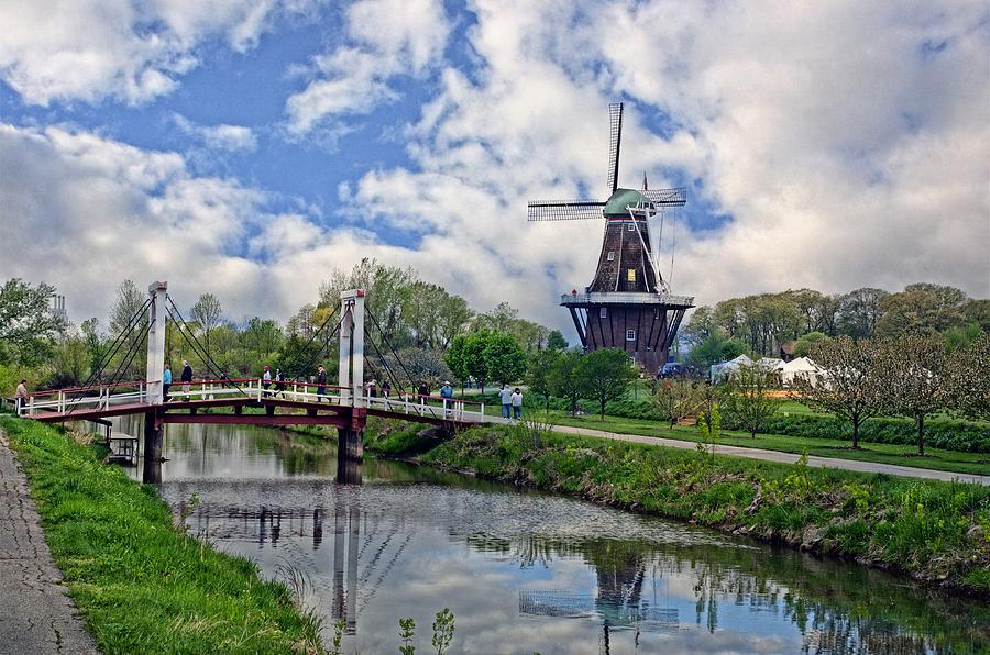 Holland Michigan Photograph - Windmill by Cheryl Cencich