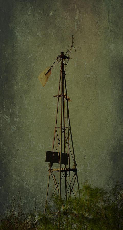 Windmill Photograph - Windmill In Summer by Mikki Cromer