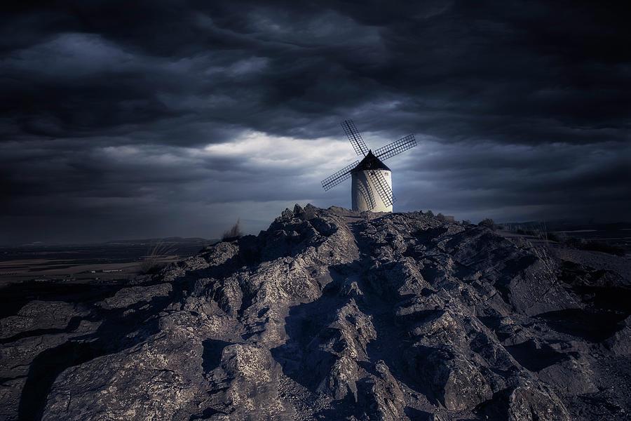Windmill Photograph - Windmill by Jose Garcia