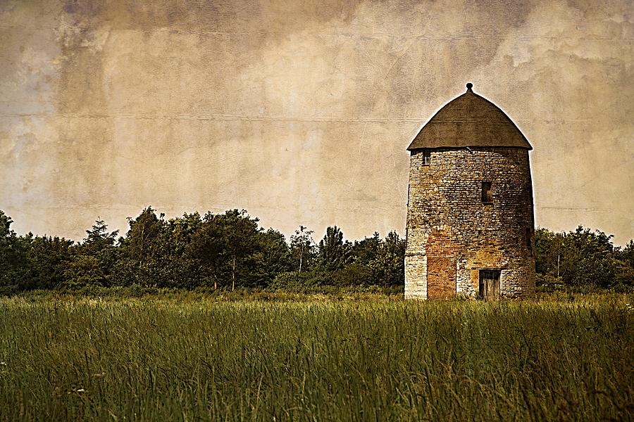 Windmill; Building; Landscape; Nature; Architecture Photograph - Windmill by Lesley Rigg