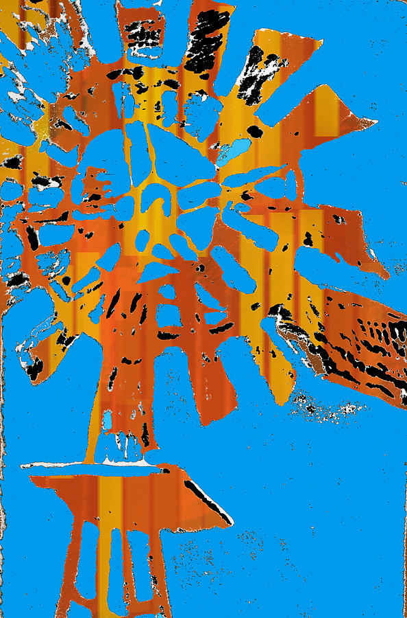 Windmill Digital Art - Windmill Of The Sun by Jame Hayes