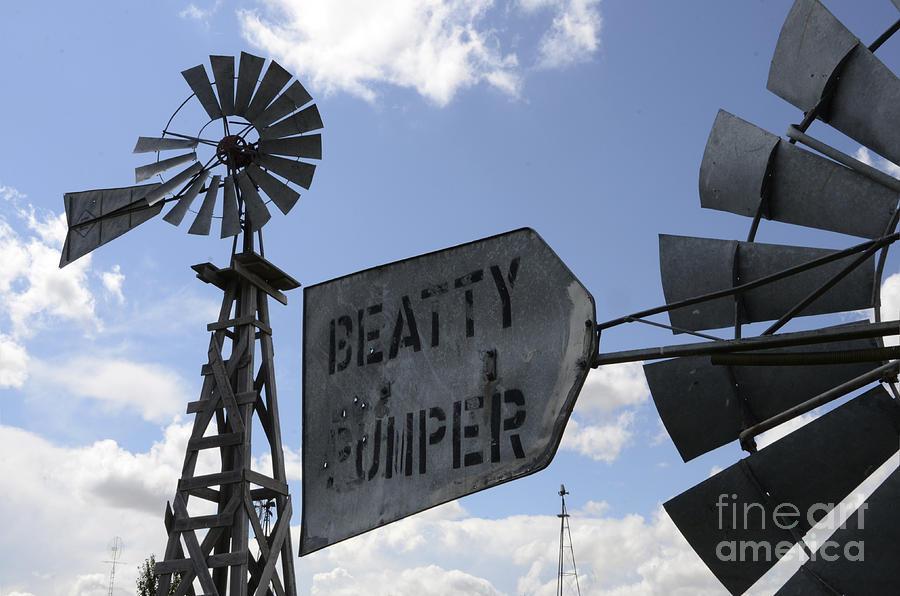 Windmill Photograph - Windmills 1 by Bob Christopher