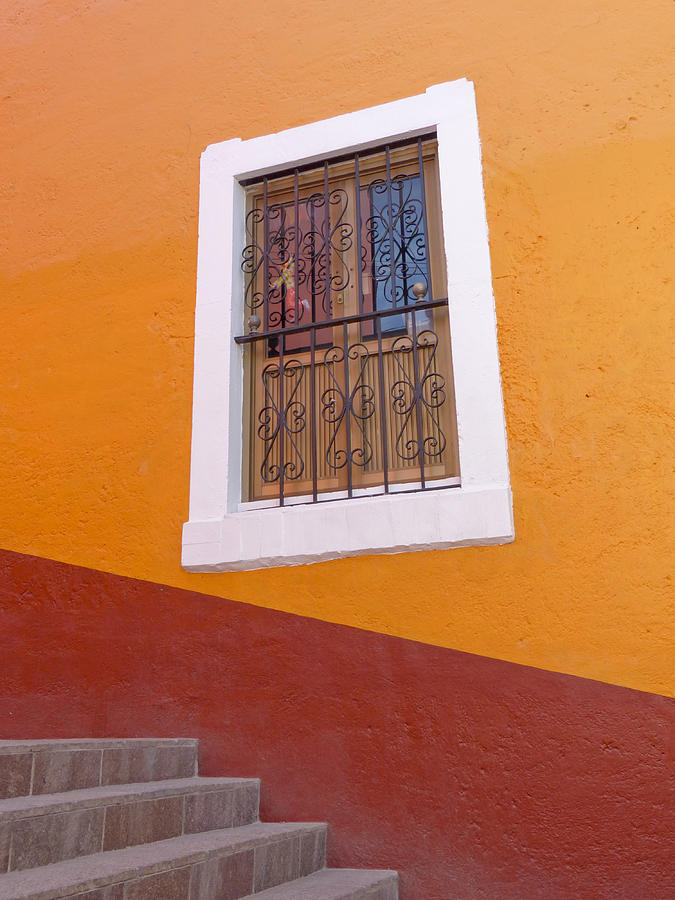 Mexico Photograph - Window 1 by Douglas J Fisher