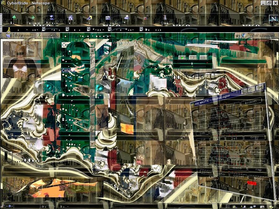 Postmodern Digital Art - Window 102 by Teo Spiller