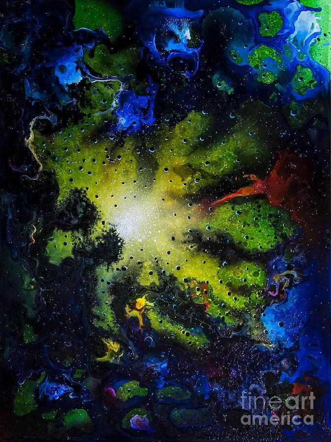 Abstract Painting - Window #2 by Jurek Zamoyski