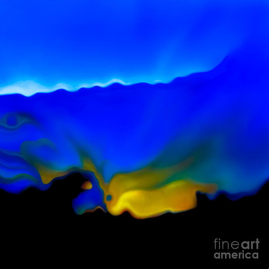 Abstract Painting - Window 1 by Jurek Zamoyski