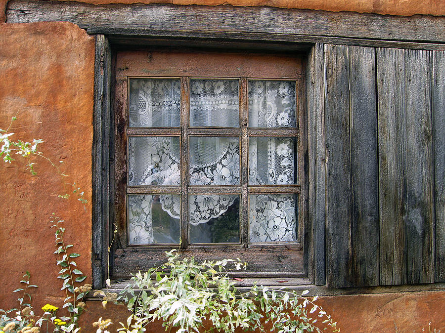 Window Photograph - Window At Old Santa Fe by Kurt Van Wagner