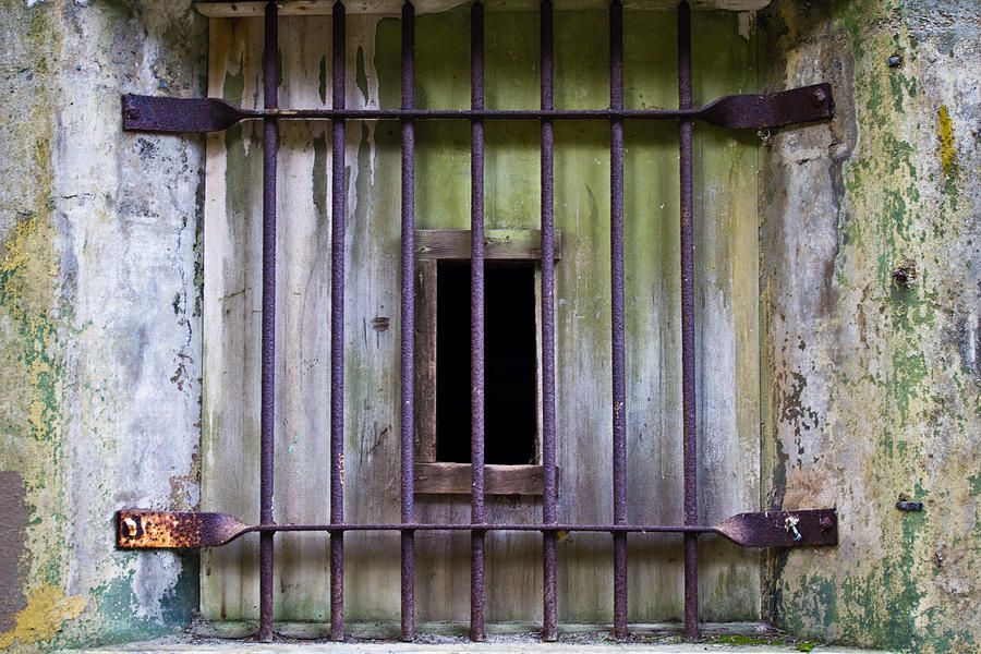 Window Photograph - Window At The Fort by Marie Jamieson