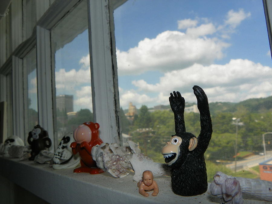 Windows Photograph - Window Buddies by Bernie Smolnik