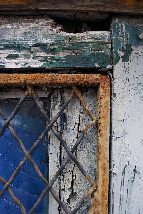 Window Corner Photograph by Gretchen Lally