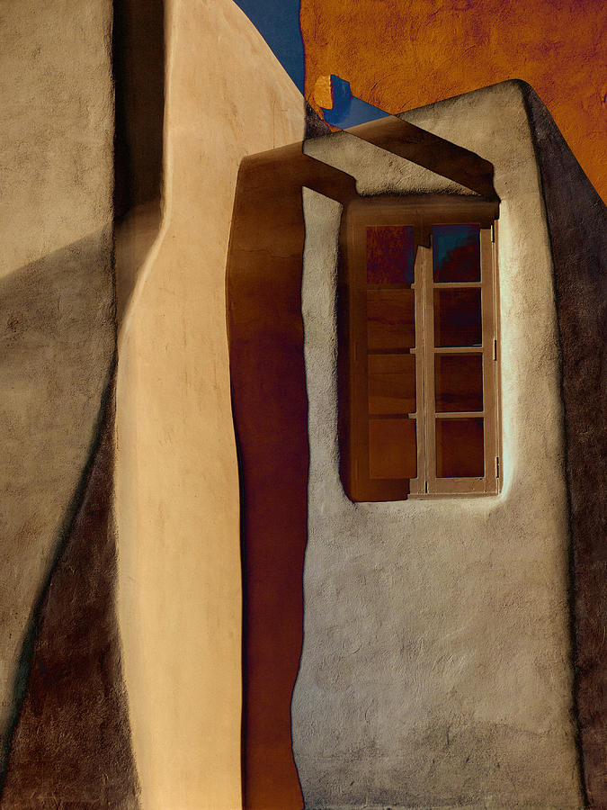 Window Photograph - Window De Santa Fe by Carol Leigh