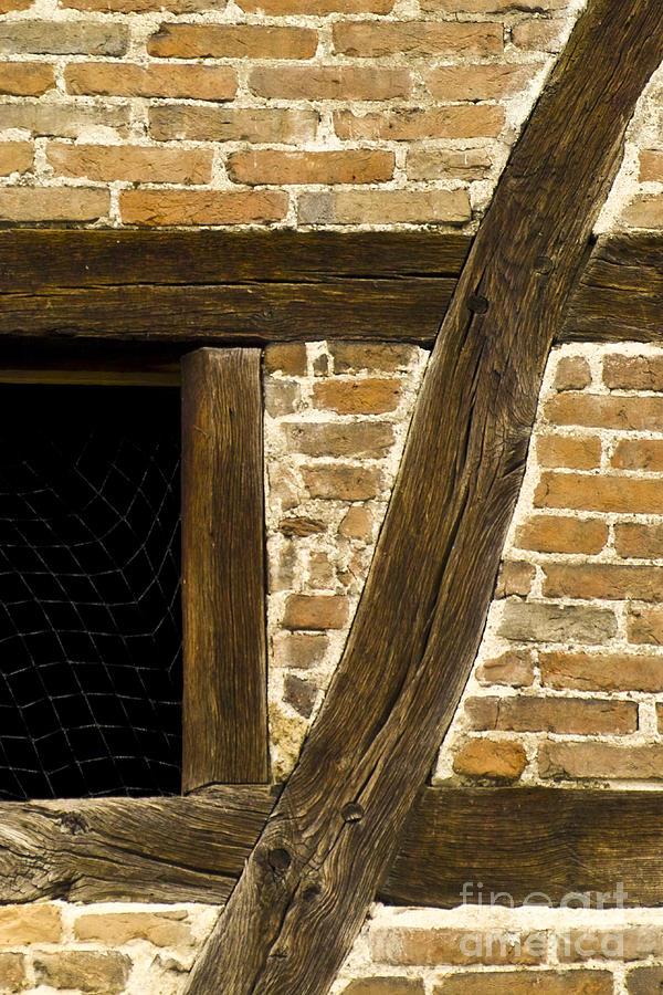 Heiko Photograph - Window Frame Detail 1 by Heiko Koehrer-Wagner