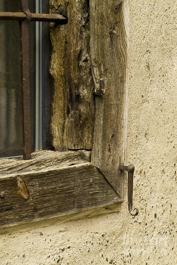 Heiko Photograph - Window Frame Detail 2 by Heiko Koehrer-Wagner