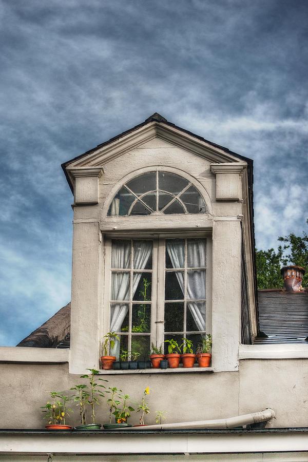 Dormer Photograph - Window Garden by Brenda Bryant
