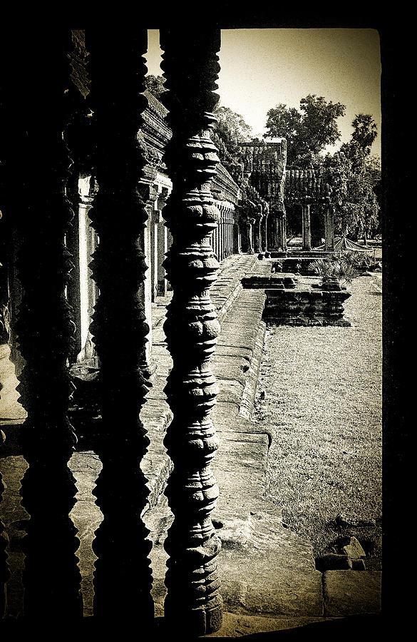 Angkor Wat Photograph - Window In Angkor Wat by Weston Westmoreland
