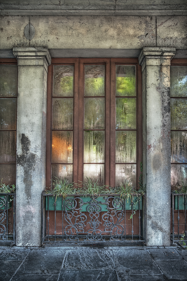 French Quarter Photograph - Window In The Quarter by Brenda Bryant