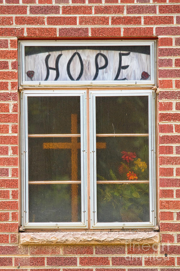 Hope Photograph - Window Of Hope 2 by James BO  Insogna