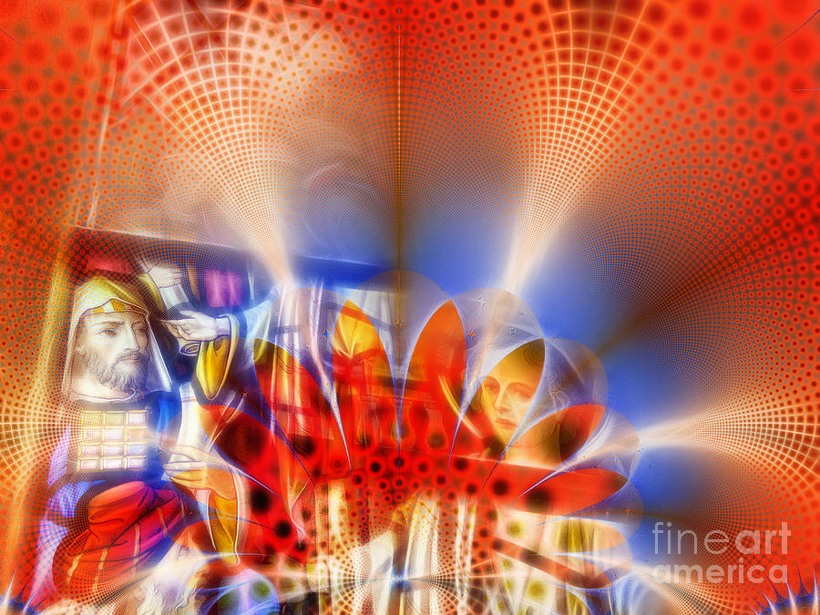 Abstract Photograph - Window Of Illusions by Ian Mitchell