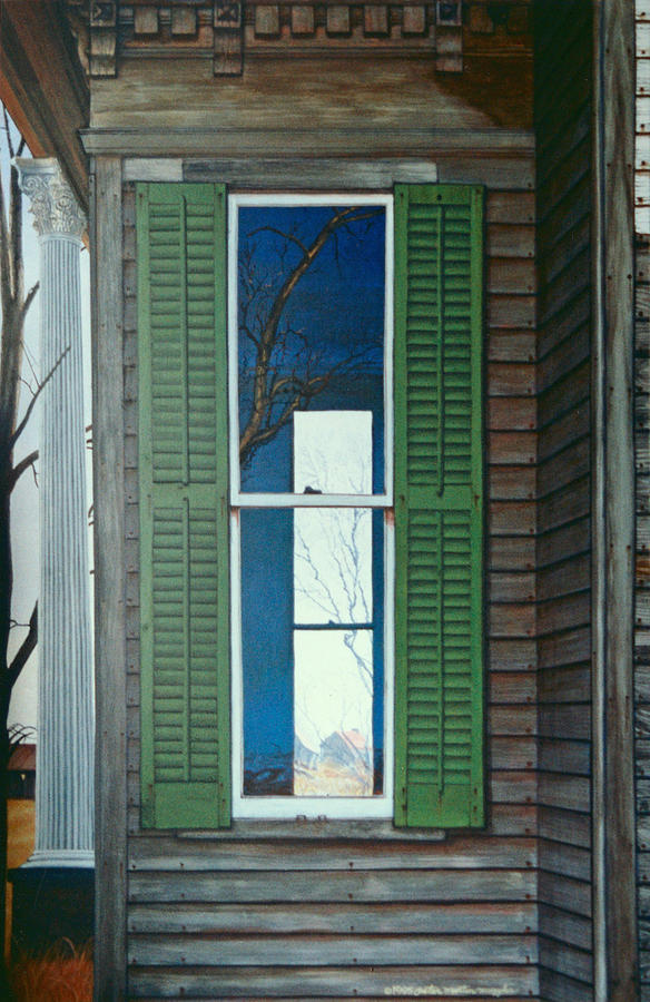 Window on the Past by Peter Muzyka