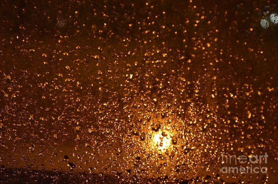 Rain Drops Photograph - Window Pain Vitoria Spain by Ty Cook