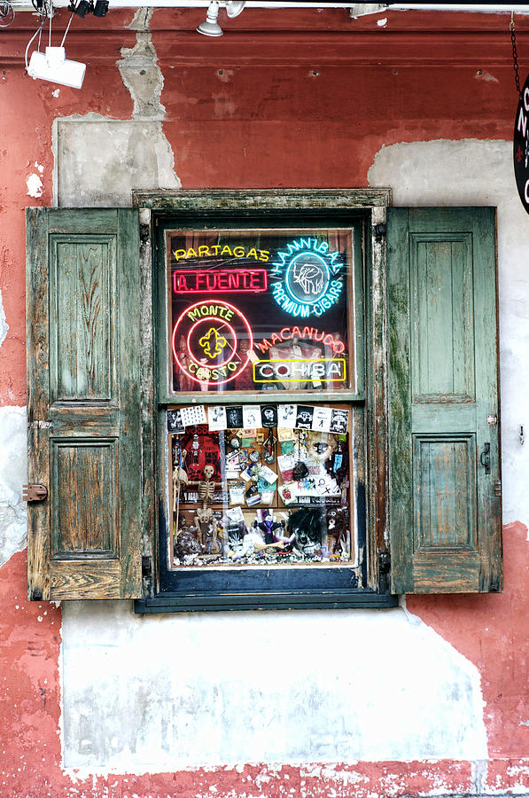 Window Photograph - Window Shop by Kenneth Feliciano