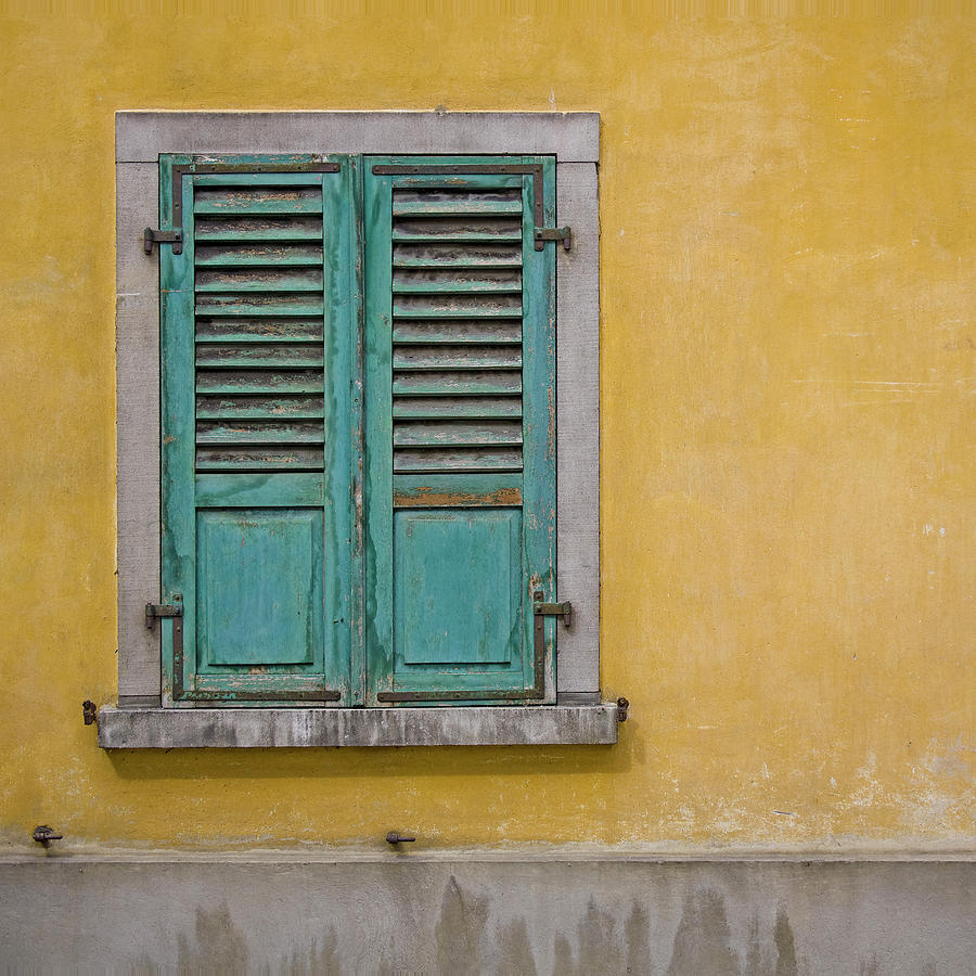 Window Photograph - Window Shutter by Heiko Koehrer-Wagner