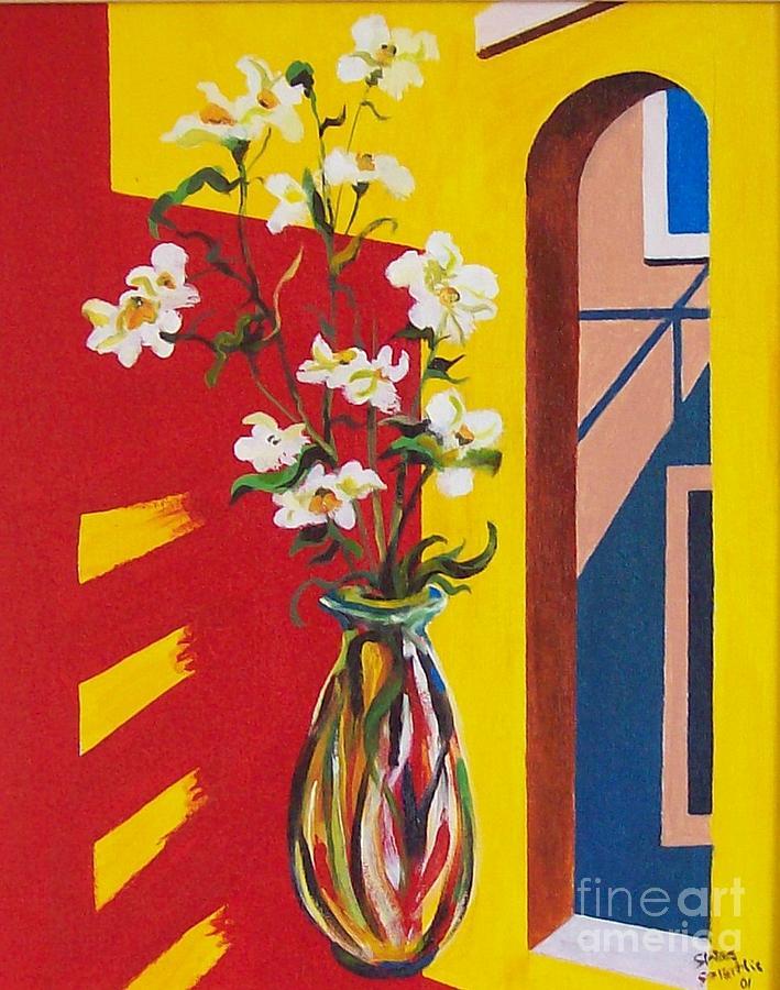 Still Life Painting - Window by Sinisa Saratlic