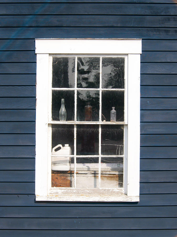 Architecture Photograph - Window To The Past by Ernest Puglisi