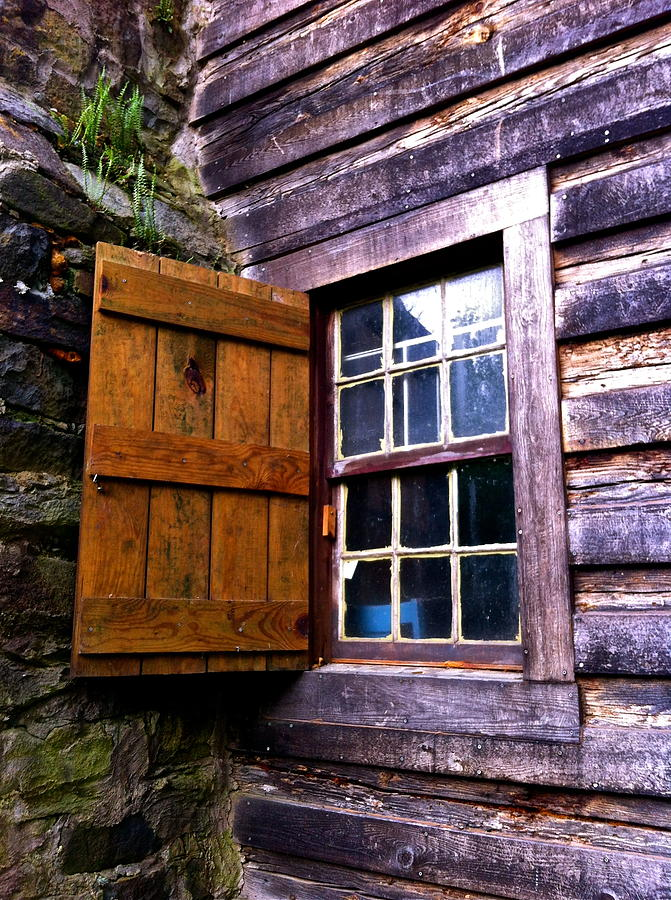 America Photograph - Window To The Past by Jody Partin