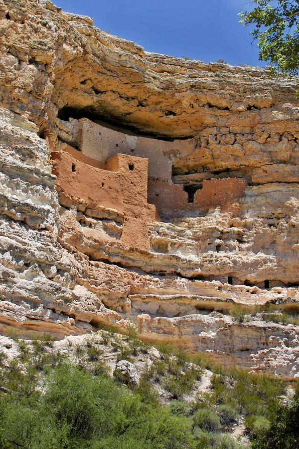 Culture Photograph - Window To The Past - Montezuma Castle by Christine Till