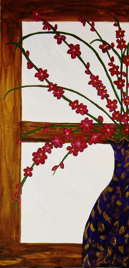 Window With A View Painting by Celeste Manning