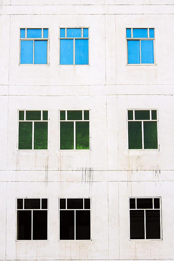 Minimalism Photograph - Windows 9 by Prakash Ghai