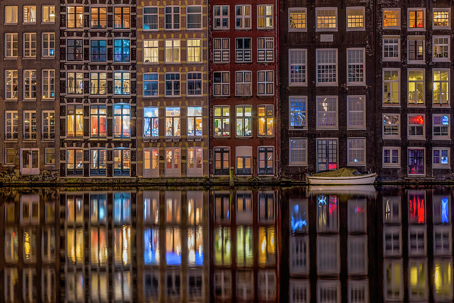 Reflection Photograph - Windows Browser by Peter Bijsterveld