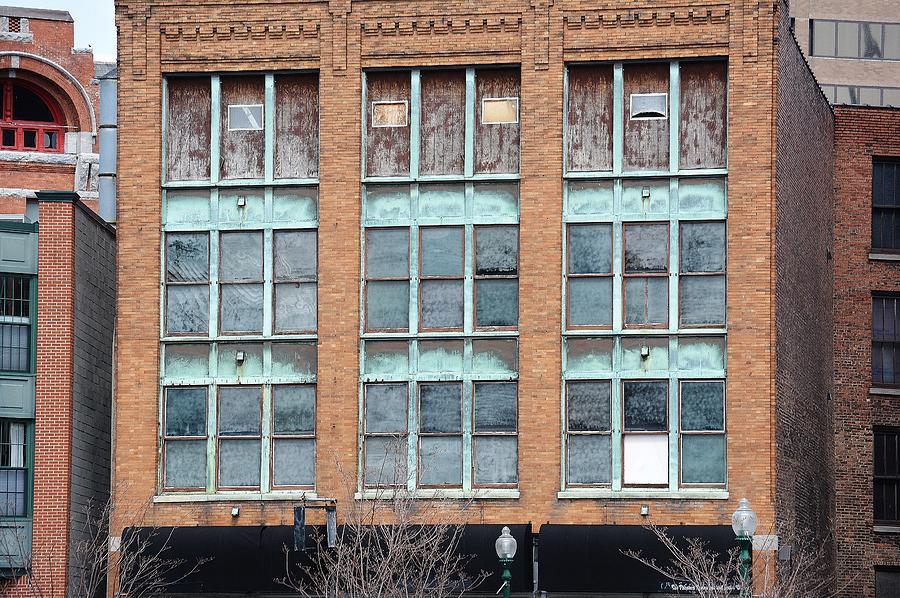 Building Photograph - Windows by Lisa Kane