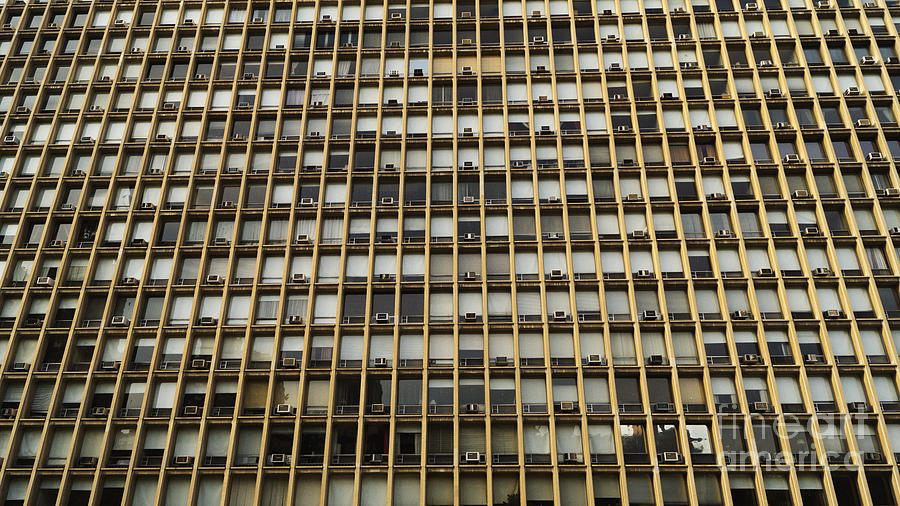 Architecture Photograph - Windows by Mark Thomas