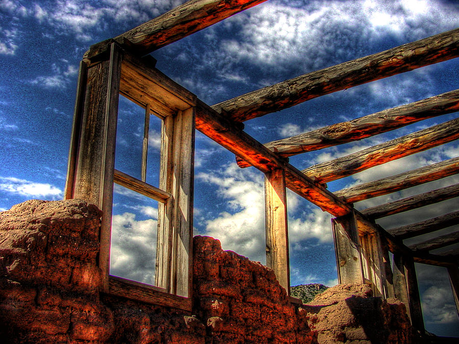 Hdr Photograph - Windows To The Past by Timothy Bischoff