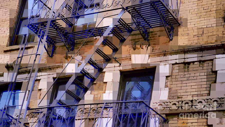 Architecture Of New York City Photograph - Windowscape 7 - Old Buildings Of New York City by Miriam Danar