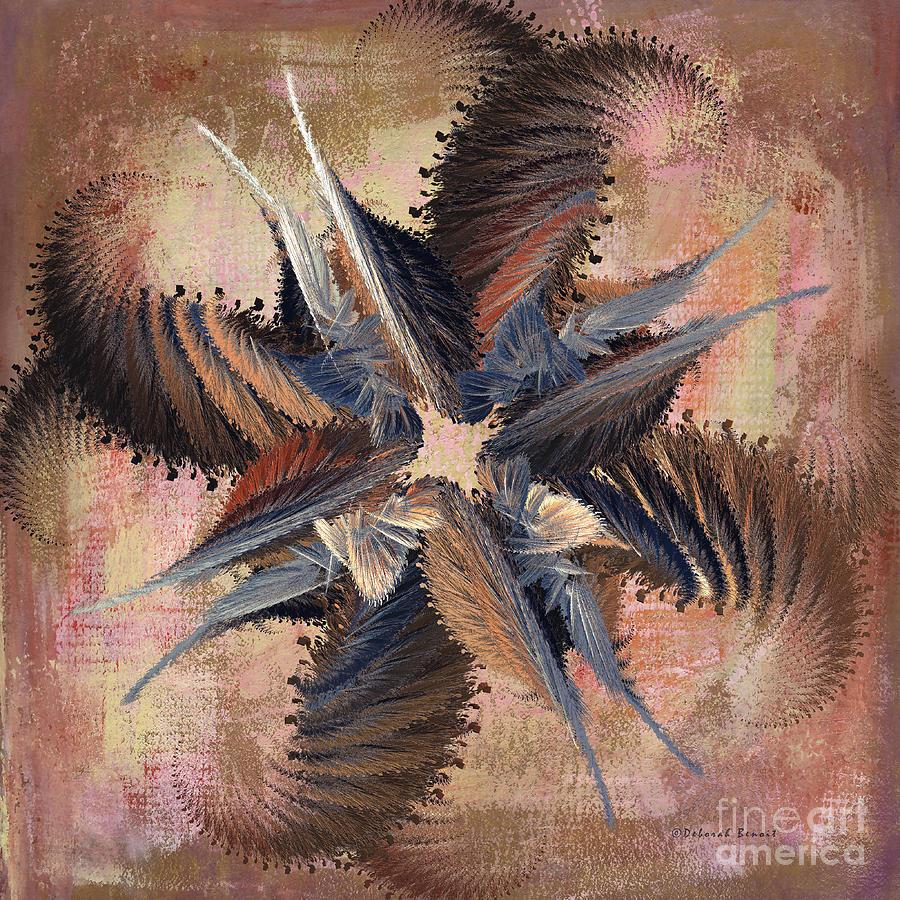 Abstract Digital Art - Winds Of Change by Deborah Benoit