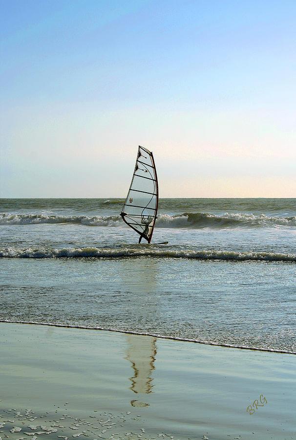 Windsurfer Photograph - Windsurfing by Ben and Raisa Gertsberg