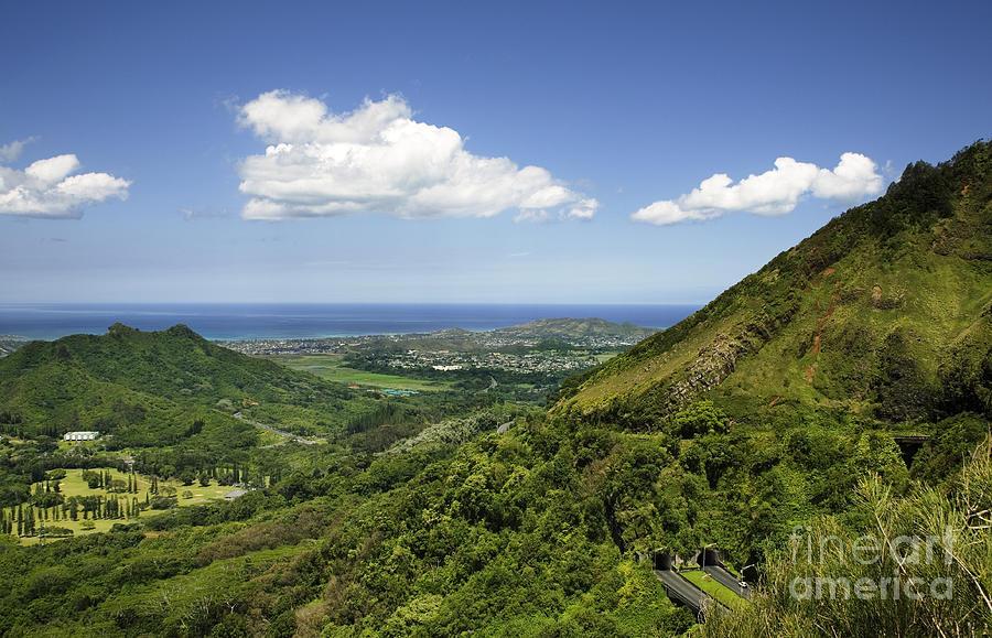 Hawaii Photograph - Windward Oahu by Charmian Vistaunet